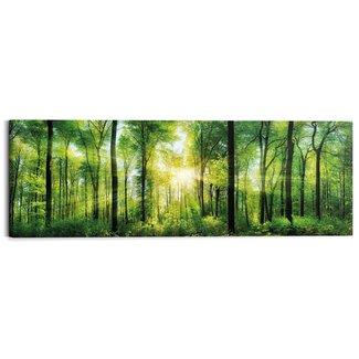 Wandbild Sommerwald
