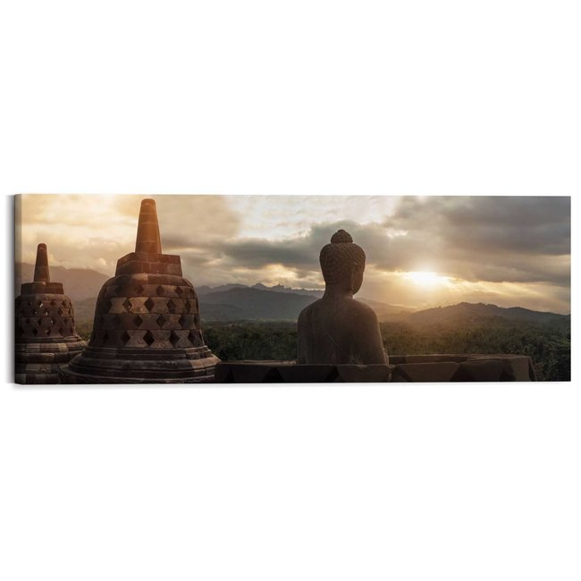 Wandbild Borobudur