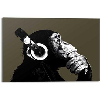 Wandbild Schimpanse