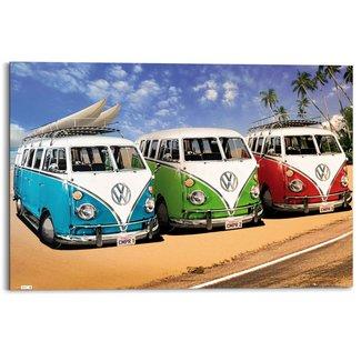 Wandbild VW Camper