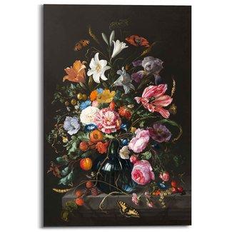 Wandbild Vase mit Blumen