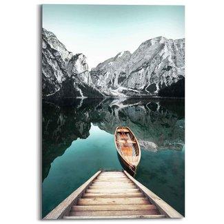 Wandbild Berg See