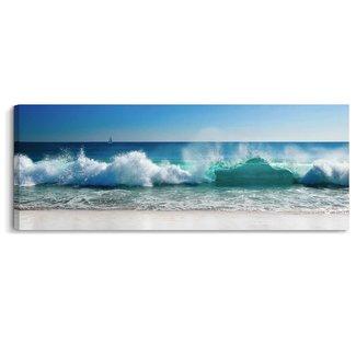 Leinwandbild Wellen