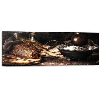 Wandbild Brot Stilleben