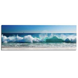 Wandbild Stürmische Wellen