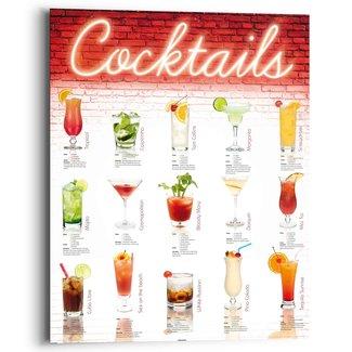 Wandbild Cocktails