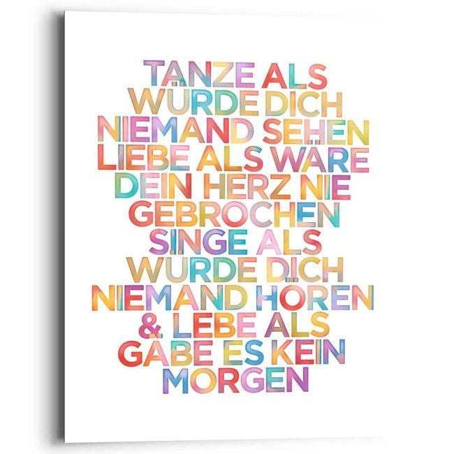 Wandbild Tanze...