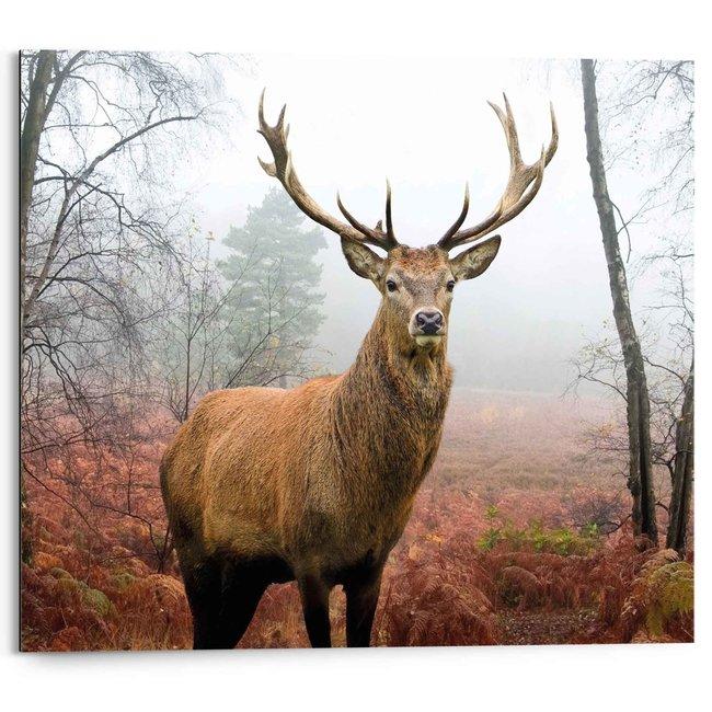 Wandbild Hirsch im Wald