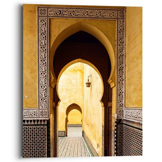Wandbild Mediterraner Eingang