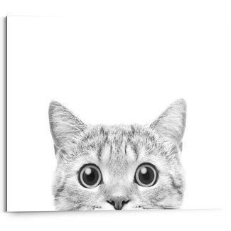 Wandbild Die Katze beobachtet dich
