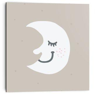 Wandbild Schlummernder Mond