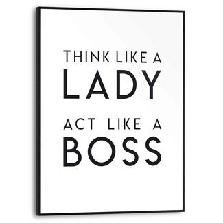 Gerahmtes Bild Lady Boss