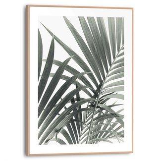 Gerahmtes Bild Palmenblätter