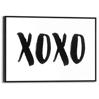 Gerahmtes Bild XOXO