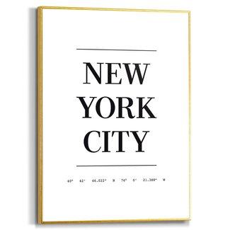Gerahmtes Bild New York City