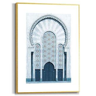 Gerahmtes Bild Türen von Marrakesh