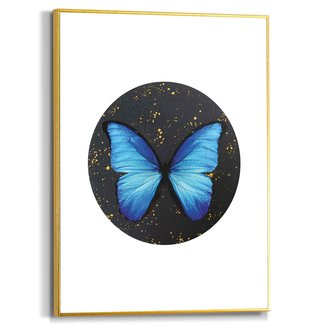 Gerahmtes Bild Schmetterling