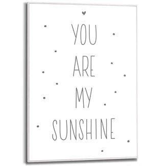Gerahmtes Bild You Are My Sunshine