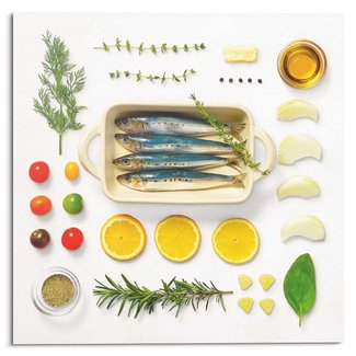 Glasbild Fisch Rezept