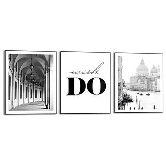 Wandbilder Set Do and Go