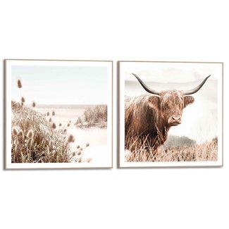 Wandbilder Set Freie Natur