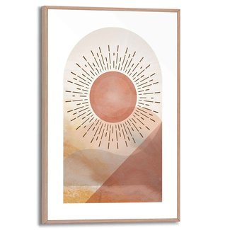 Gerahmtes Bild Sonne