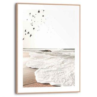 Gerahmtes Bild Rollende Wellen