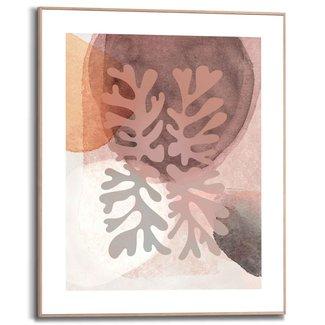 Gerahmtes Bild Abstrakte Formen