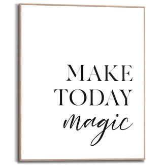 Gerahmtes Bild Ein magischer Tag
