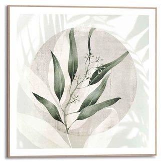 Gerahmtes Bild Blätter