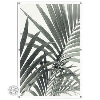 Gartenposter Palmenblätter