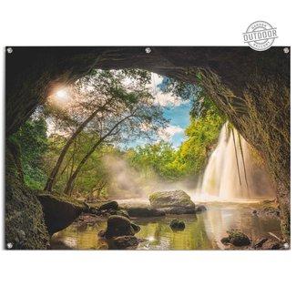 Gartenposter Steinhöhle