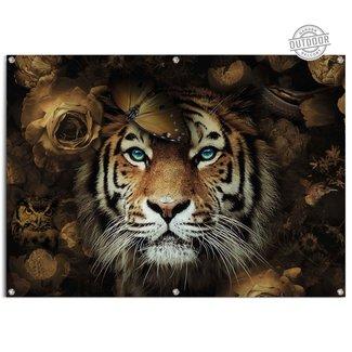 Gartenposter Tiger