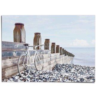 XXL Poster Fahrrad am Meer