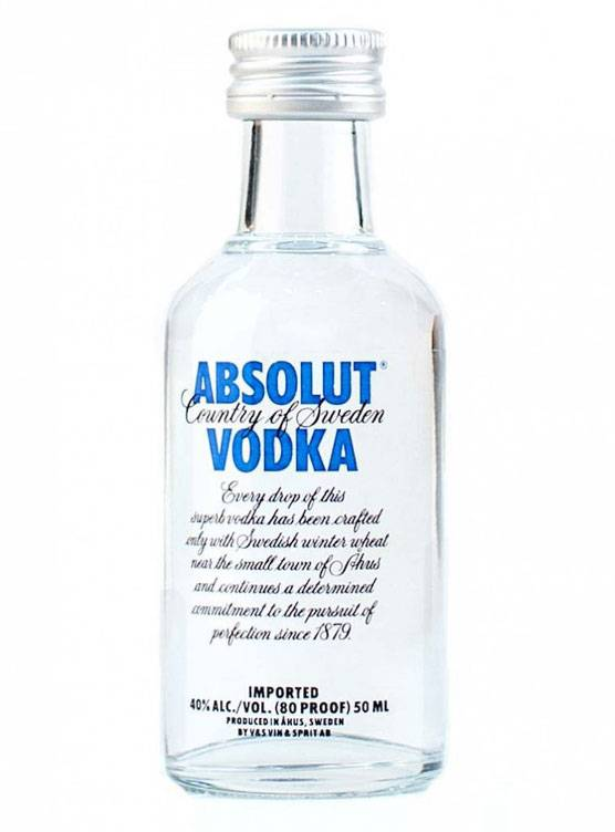Absolut Absolut Vodka 5CL