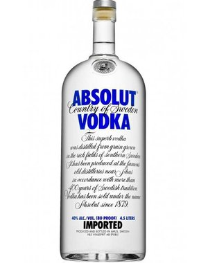 Absolut Vodka 4,5 Liter