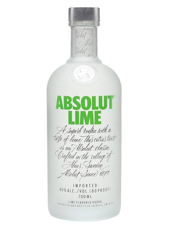 Absolut Absolut Lime 70CL