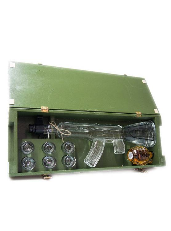 Red Army Red Army Vodka AK-47 Giftset