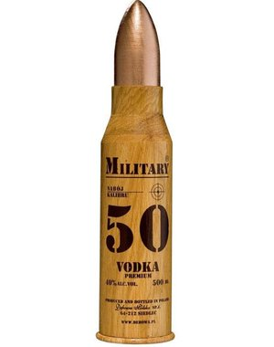Military Bullet Vodka 50 CL