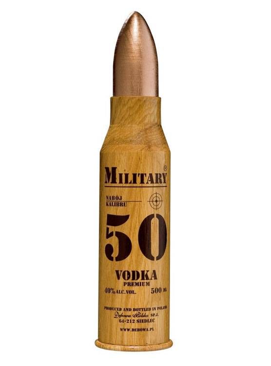 Military Military Bullet Vodka 50 CL