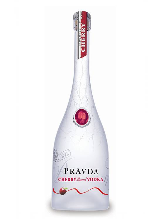 Pravda Pravda Cherry Vodka 70CL