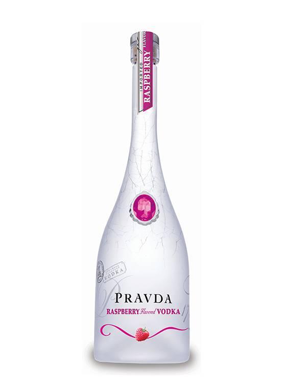 Pravda Pravda Raspberry Vodka 70CL