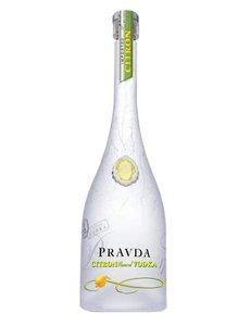 Pravda Citron Vodka 70CL