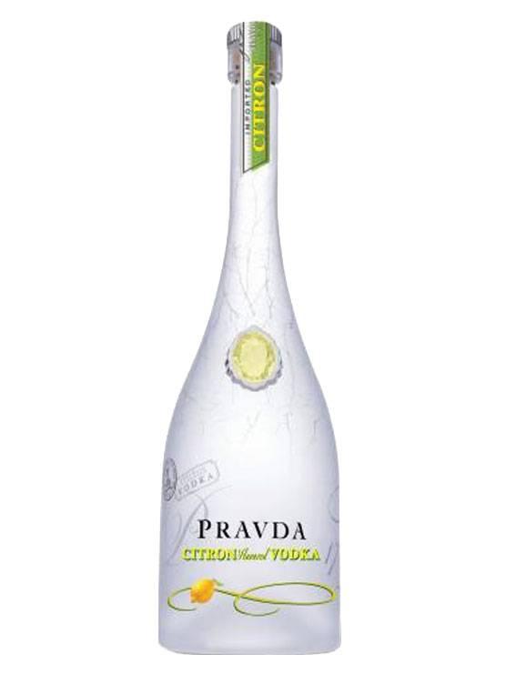 Pravda Pravda Citron Vodka 70CL