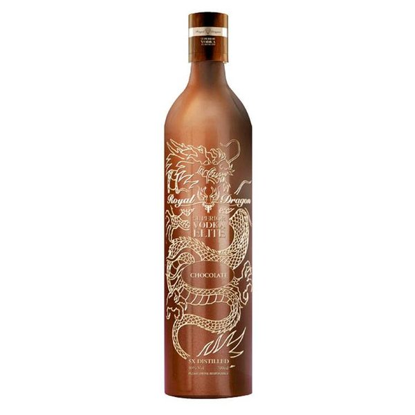 Royal Dragon Elite Chocolate Vodka 70CL
