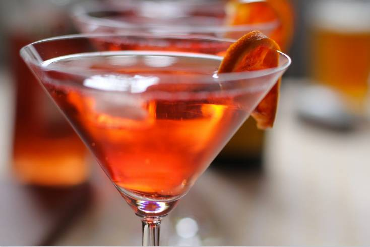 Cosmopolitan cocktail recept - Hoe maak je een Cosmopolitan met vodka?