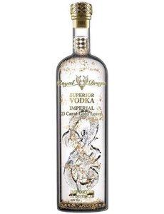 Royal Dragon Imperial Gold Leaf Vodka 70CL