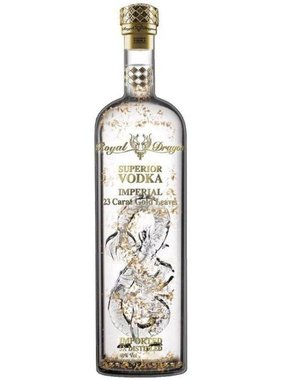 Royal Dragon Imperial Gold Leaf Vodka 70CL