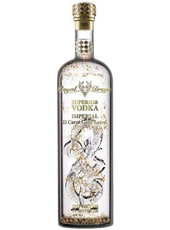Royal Dragon Royal Dragon Imperial Gold Leaf Vodka 1L in Giftbox