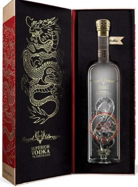 Royal Dragon Impérial Good Luck Edition Vodka 70CL in Giftbox
